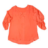 Fashionable women's blouse Stock Images