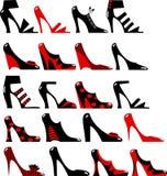 Fashionable women's footwear Stock Image