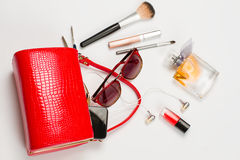 Fashionable women's handbag. Stock Image