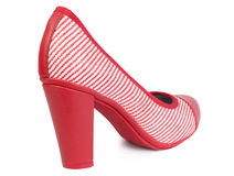 Fashionable women's   high heel shoes Royalty Free Stock Images