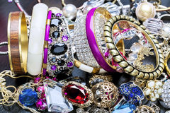 Fashionable women's jewelry Stock Images