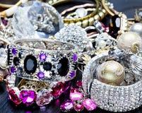 Fashionable women's jewelry Royalty Free Stock Image