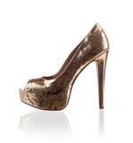 Fashionable women shoe. Modern fashionable women shoe shot in studio Stock Images