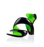 Fashionable women shoe. Modern fashionable women shoe shot in studio Stock Image