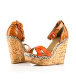 Fashionable women shoes Royalty Free Stock Images