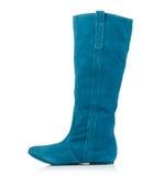Fashionable women winter boot Royalty Free Stock Photos