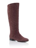 Fashionable women winter boot Royalty Free Stock Images