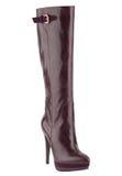 Fashionable women winter boot Stock Photo
