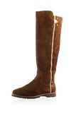 Fashionable women winter boot Royalty Free Stock Photography