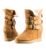 Fashionable women winter boots Stock Image