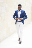 Fashionable young african man Royalty Free Stock Images