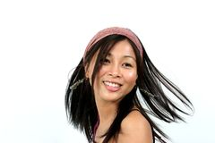Fashionable young asian 8 Royalty Free Stock Image