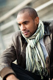 Fashionable young black man Royalty Free Stock Photo