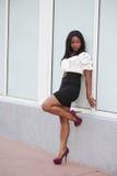 Fashionable young black model Stock Photo