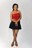 Fashionable young black woman Stock Image