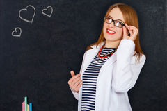 Fashionable young female doctor. Stock Images