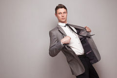 Fashionable young male model Royalty Free Stock Photo