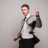 Fashionable young male model Royalty Free Stock Images