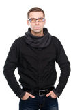 Fashionable young man in casual wear Stock Image