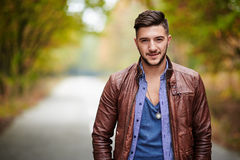 Fashionable young man Royalty Free Stock Image