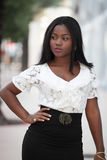 Fashionable young model Royalty Free Stock Images