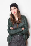Fashionable young student. Royalty Free Stock Photos