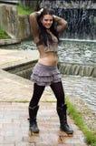 Fashionable young woman Stock Photo