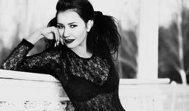 Fashionable young woman Stock Image