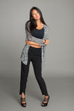 Fashionable young woman of Asian Stock Photos