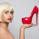 Fashionable young woman Royalty Free Stock Image