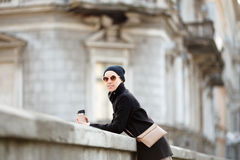 Fashionable young woman Stock Photo