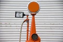 fashioned gas old pump Στοκ Φωτογραφία