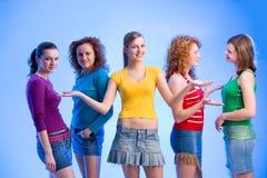 Fashionista clique Stock Photos