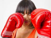 Fashionnable boxer Royalty Free Stock Image