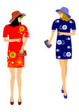 Fashions for girls Royalty Free Stock Image