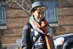 Fashionweek new york city february  2015 Stock Photos