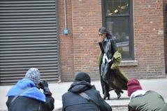 Fashionweek New York City le 14 février 2015 Photo libre de droits
