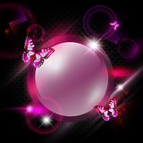 Fashoin pink abstract background Stock Images