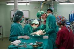 Fasi 3 della chirurgia Immagini Stock Libere da Diritti