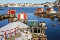 Fasi di pesca Fotografie Stock