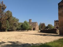 Fasil Castle Gondar Ethiopia Stock Photography