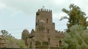 Fasil Ghebbi: Wohnsitz des äthiopischen Kaisers Fasilides und seiner Nachfolger Lizenzfreie Stockfotografie