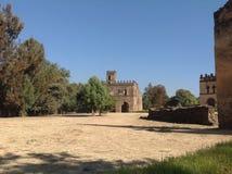 Fasil-Schloss Gondar Äthiopien Stockfotografie