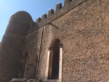 Fasil slott Gondar Etiopien Royaltyfri Fotografi