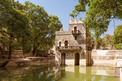 Fasilides Bath at Gondar in Ethiopia Stock Images