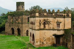 Fasilides Castle in Gonder, Ethiopia Royalty Free Stock Photo