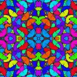 fasinating的五颜六色的背景由蓝色Morpho butterfli制成 免版税库存图片
