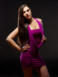 Fasion portrait of young woman Royalty Free Stock Image