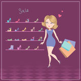 Fasion sale Royalty Free Stock Photography