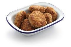 Fasirt, hungarian fried meatball Royalty Free Stock Photo